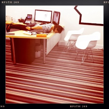 Planking Strikes the Agency World